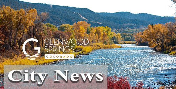 Glenwood Springs City News (image of river in the fall with leaves changing)