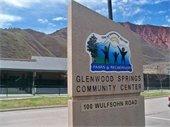 Glenwood Springs Community Center Sign